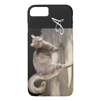 TURKISH CAT MONOGRAM iPhone 7 CASE