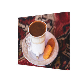 Turkish Coffee And Fruit Canvas Print