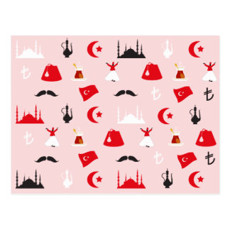 Turkish Delight Postcard