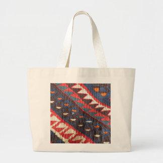 Turkish Exotic Bohemian Boho Ethnic Persian Carpet Large Tote Bag