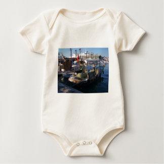 Turkish Fishing Boats Baby Bodysuit