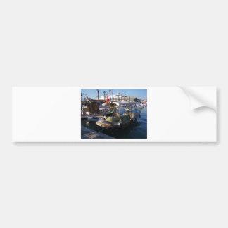 Turkish Fishing Boats Bumper Sticker