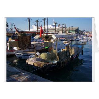 Turkish Fishing Boats Card