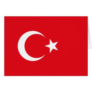 Turkish Flag Card