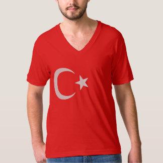 Turkish Flag Crescent Moon And Star T-Shirt