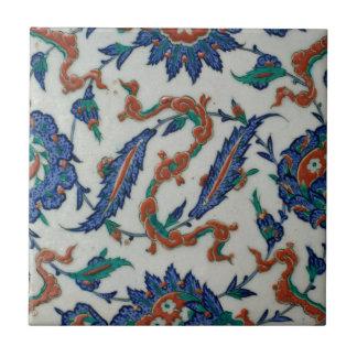 Turkish Floral and Cloud-band Design Tile