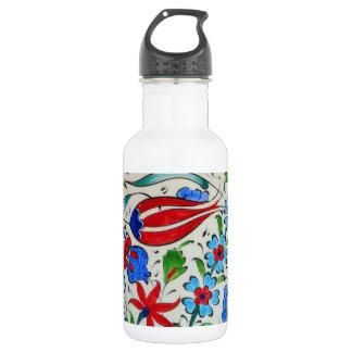 Turkish floral design 532 ml water bottle