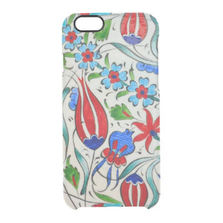 Turkish floral design clear iPhone 6/6S case