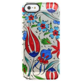 Turkish floral design clear iPhone SE/5/5s case