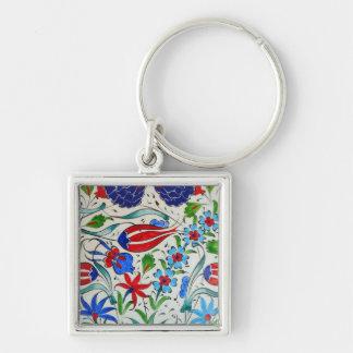 Turkish floral design key ring