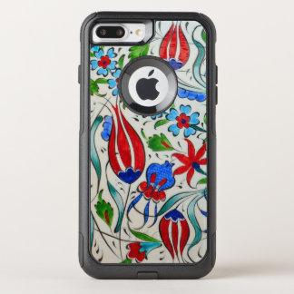 Turkish floral design OtterBox commuter iPhone 7 plus case