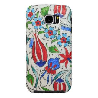 Turkish floral design samsung galaxy s6 cases
