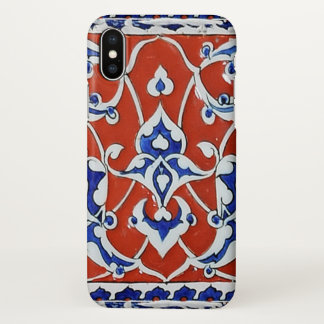 Turkish floral tiles iPhone x case