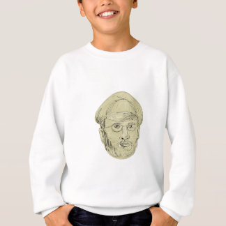 Turkish General Head Drawing Sweatshirt