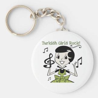 Turkish Girls Rock Key Ring