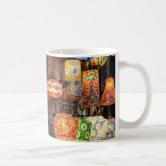 Turkish Glass Lamps for Sale in Istanbul Market Coffee Mug