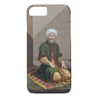 Turkish Man, praying, 18th century (engraving) iPhone 7 Case