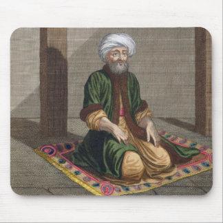 Turkish Man, praying, 18th century (engraving) Mouse Pad