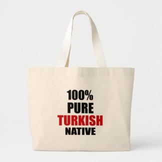 TURKISH NATIVE LARGE TOTE BAG