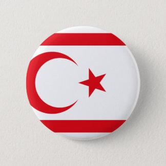 Turkish Republic Northern Cyprus, Cyprus 6 Cm Round Badge