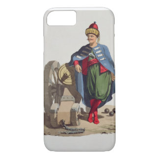 Turkish Soldier, from 'Costumes of the Various Nat iPhone 7 Case