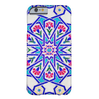 Turkish Tile in White, Blue and Red Barely There iPhone 6 Case