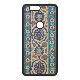 turkish tiles wood nexus 6P case