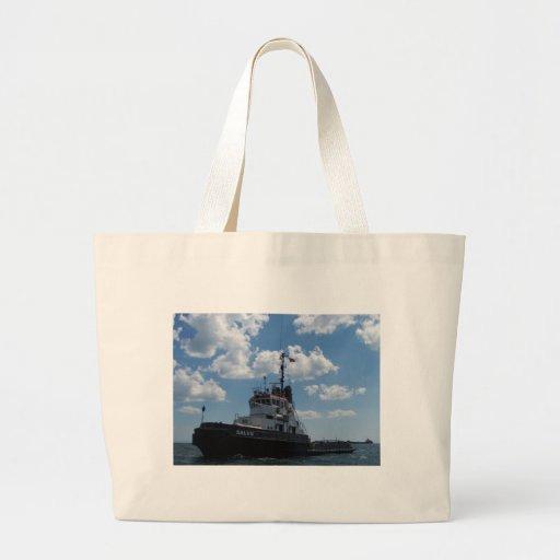 Turkish tug. tote bag