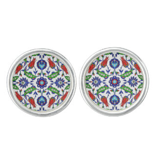 turkish tulips Cufflinks