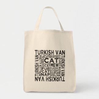 Turkish Van Cat Typography