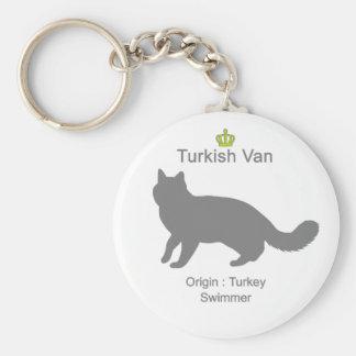 Turkish Van g5 Key Ring
