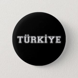 Türkiye 6 Cm Round Badge