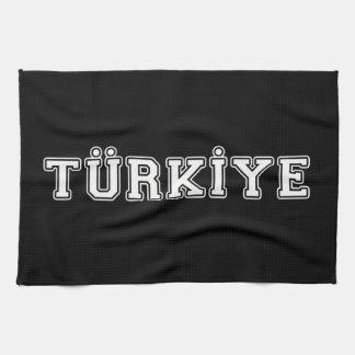 Türkiye Tea Towel