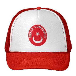 Turkiye (Turkey) COA Trucker Hats