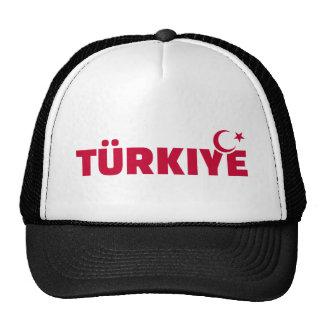 Türkiye turkey mesh hats
