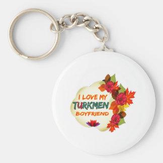 Turkmen Boyfriend Design Keychain