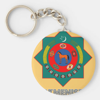 Turkmen Emblem Keychain
