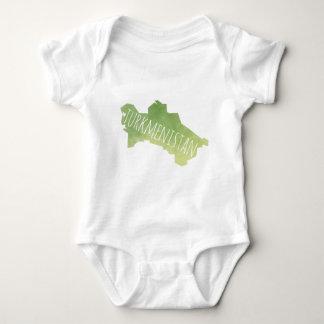 Turkmenistan Baby Bodysuit