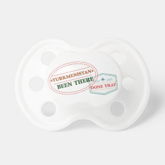 Turkmenistan Been There Done That Baby Pacifiers