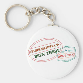 Turkmenistan Been There Done That Key Ring