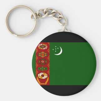 Turkmenistan Flag Keychains