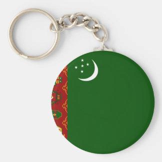 Turkmenistan Flag Key Chains