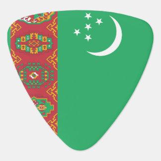 Turkmenistan Flag Plectrum