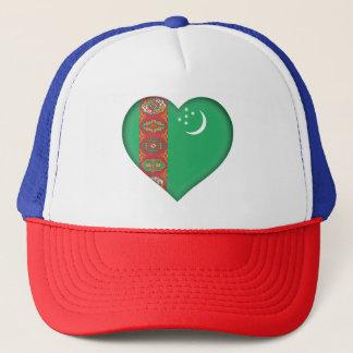 Turkmenistan Flag Trucker Hat