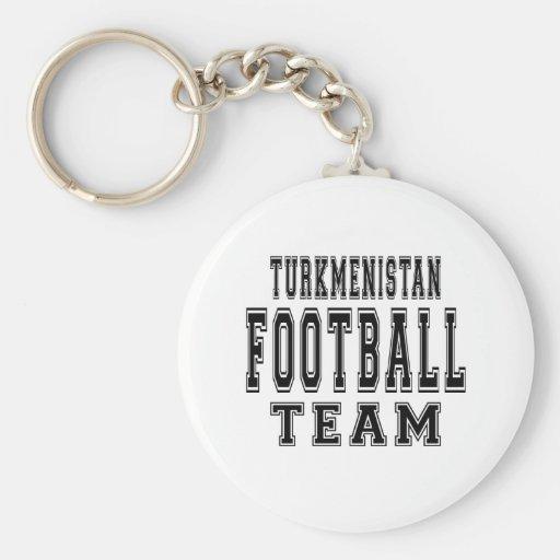 Turkmenistan Football Team Keychains