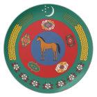 Turkmenistan Plate Туркмения