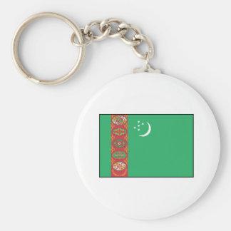 Turkmenistan – Turkmen Flag Keychains