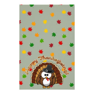 turkowl - Thanksgiving cards and more Customised Stationery