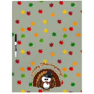 turkowl - Thanksgiving cards and more Dry-Erase Whiteboard