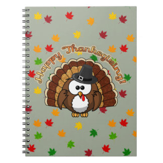 turkowl - Thanksgiving cards and more Notebooks